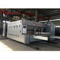 Buy Economic Model Flexo Printer Slotter Die Cutter Machine For Pizza Box 50mm Wall at wholesale prices
