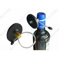 China Wine RF Liquor Security Tags 50mm Diameter With Strong Cable  / EAS Bottle Tag on sale