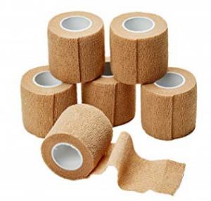 Quality Latex Free Medical Gauze Bandage Self-Adhering Elastic Bandage Easy Operation for sale
