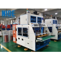 Buy cheap Induction 8 Stations Motor Stator Winding Machine Customized from wholesalers
