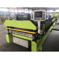 China 14 Stations Roof Panel Roll Forming Machine , Low Noise Metal Forming Machine on sale