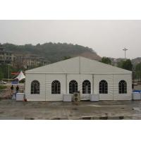 Quality Wind Resistant Trade Show Tents 15M X 30M Customized Clear span Fabric Structures for sale