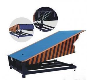 Quality Custom Stationary Hydraulic Dock Leveler , Warehouse Dock Ramps DCQ8-0.7 for sale