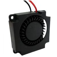 Buy cheap 12V CPU Electronics Cooling Fan , DC Centrifugal Blower Fan Plastic Material from wholesalers
