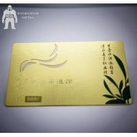 Quality High Quality Customized Personalized Metal Membership Card With Number for sale