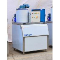 China Sea Water Flake Ice Making Machine Air Cooled For Fishing R404A Refrigerant on sale