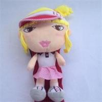 Quality Suffed Plush Toys Dolls Fashion doll with hat doll with skirt for sale
