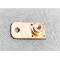 Quality Brass High Precision Machined Parts Shaft Support Block Long Lifespan for sale