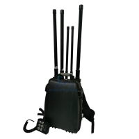 Buy cheap 100w GPS WiFi Backpack UAV 2.4km Drone Signal Jammer from wholesalers