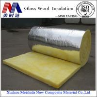 China Fireproof Soundproof Glass Wool Insulation Batts on sale