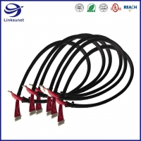 Quality Industrial wire harness with PA 1 Row 2.0mm Crimp Receptacle connector for sale