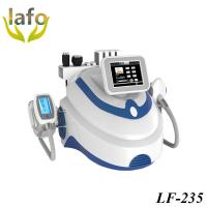 Quality LF-235 Portable Valeshape Cavitation RF Laser Cryolipolysis Freezing Fat Cell Slimming Machine for sale