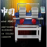 China ( HS series ) Economical Garment Fabric 2 head Customized Computerized Embroidery Machine on sale