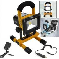 Quality 10w   100 - 110lm/W, rechargeable Portable Led Projection Light / Led Flood Lights For Factory, Storage Room for sale