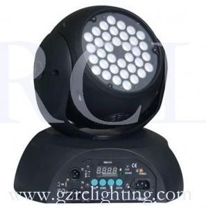 China Rainbow system 36pcs 3Watt RGB LED Wash Moving Head Lights RC-LM3603 on sale