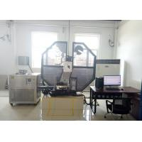 Quality High Safety Charpy Test Equipment Angle 150 ° With Big Touch Screen Monitor for sale