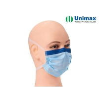 Quality CE Anti Fog Unimax Medical Face Protection Mask With Ties for sale