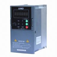 Quality 3HP 2.2kW 380V 50/60Hz Sensorless Current Vector Control Frequency Inverter, 6.2A,4.2kVA,0.10-400Hz for sale