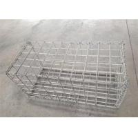 Quality Galvanised Welded Mesh Hesco Barriers / Military Hesco Bastion For Defensive Wall for sale