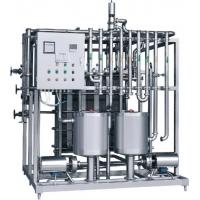 Quality Easy Operation Plate Heat Exchanger Pasteurizer With UHT Sterilizer / CIP Unit for sale