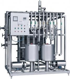 Quality Stainless Steel Milk Pasteurization Machine , Plate Type Small Milk Sterilizer Machine for sale