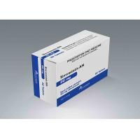 Calcium Tablet Paper Packaging Box , Pharmaceutical Use White Paper Box