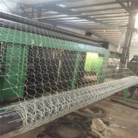 Quality Gabion road mesh provides lateral restraint to the asphalt, which improves resistance to rutting and shoving for sale