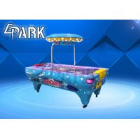 China 250W Kids Arcade Games Interactive Air Hockey Table For Amusement Park on sale