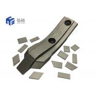 Quality Plough Parts Cemented Tungsten Carbide Plate Welding On Tips Excellent Rigidity for sale