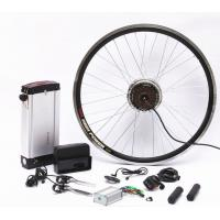 26 Inch Electric Bike Conversion Kit Gearless Hub Motor Front Wheel With Battery