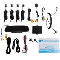 Quality Rearview Mirror With 3.5 Tft And Camera fm Frequency Transmitter Car Electronics Products for sale