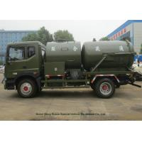 Quality Heavy Duty Septic Vacuum Trucks For Oilfield / Fecal / Sewer Cleaning for sale