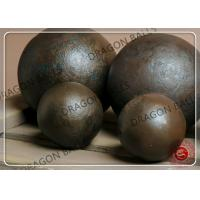 Quality Hot Rolling Ball Mill Balls 20mm 25mm Reliable With CE / ISO Certification for sale