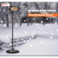 China Mr Patio Electric infrared Quartz Heater 1500W Free Standing and Wall mounter Outdoor Heater on sale