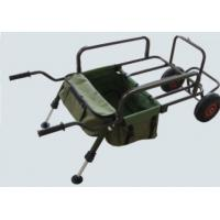 Quality Sturdy Powder Coated Steel Frame Standard Fishing Tackle Trolley for sale