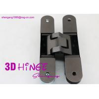 Quality Concealed Invisible Door Hinges Satin Nickel Finish For Heavy Internal Doors for sale