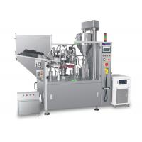 China Cosmetic Use Automatic Tube Filling Machine For Tomato Paste Packing on sale