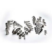 Quality Silver Sanitary S30400 & S31603 Stainless Steel Tube Fittings For Pharmacy Industry,SUS for sale
