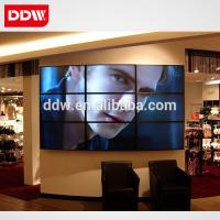 Quality 42 inch 4K LCD video wall with 10mm bezel LED backlight UHD 3840x2160 for sale
