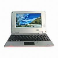 Quality 7-inch Netbook, Ideal for Student, Microsoft's Windows CE/Android 4.0 OS and Wi-Fi 802.11 for sale