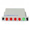 Buy cheap ISO 1×4 FC UPC Fiber PLC Splitter Cassette DWDM CWDM Fiber Splitter Box from wholesalers