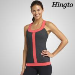 Workout Vest Running Wear Womens Sport Tank Tops in Grey , Blue , Red , Rose