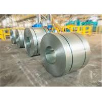 China Cold Rolled Galvanised Steel Coil , Coated Surface ASTM Steel Plate on sale