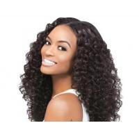 Quality Double Drawn Real Brazilian Human Hair Extensions With Soft And Clean for sale