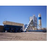 High performance and low price Twin Shaft Mixer HZS75 75m3/h concrete mixing plant