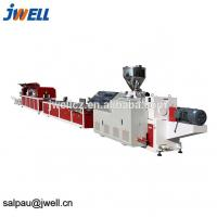 Quality 280kg/H Indoor Decorative Materials Extrusion Line 55 Extruder Power for sale
