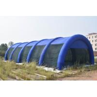 Quality 30m Long Large Inflatable Paintball Arena For Outdoor Activity for sale