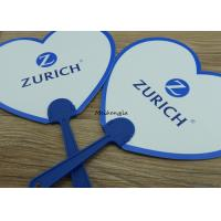 Quality Summer Portable Round Plastic Hand Held Fans For Promotional Gifts for sale