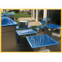 Quality Dust Proof Duct Protection Film , Open Duct Vent - Duct Blue PE Protective Film For Duct for sale