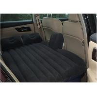 China CE PVC Black car Travel Inflatable Mattress For Kids And Adult wholesale